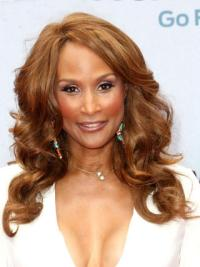 Beverly Johnson Classic and Gorgeous Long Wavy Lace Human Hair Wig