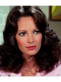 "Capless Black 14"" Wavy Synthetic Jaclyn Smith  Wigs"