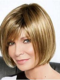 """Full Lace Blonde 10"""" Straight Synthetic Jaclyn Smith  Wigs"""