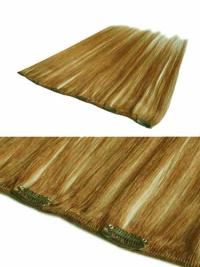 Blonde Straight Stylish Clip in Hair Extensions