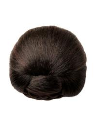 Synthetic Brown Impressive Wraps / Buns