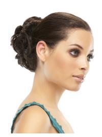Remy Human Hair Brown Traditiona Wraps / Buns