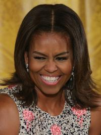 Short First Lady Remy Human Hair Celebrity Wigs