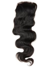 Braw Black Wavy Long Lace Closures