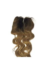 Shining Black Wavy Long Lace Closures