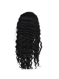 Top Black Wavy Long Lace Frontals Extensions