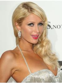 Traditiona Blonde Wavy Long Paris Hilton Wigs