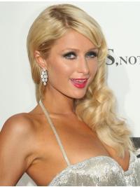 Traditiona Blonde Wavy Long Paris Hilton Wigs