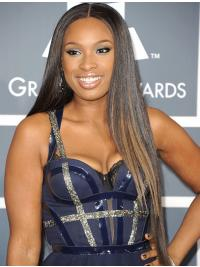 Cool Lace Front Straight Long Jennifer Hudson Wigs