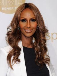 Iman Long Wavy Style Synthetic Hair
