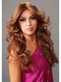 Discount Monofilament Wavy Long Lace Front Wigs