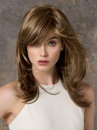 Lace Front Straight Synthetic Top Long Wigs