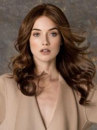 Ideal Monofilament Wavy Long Petite Wigs