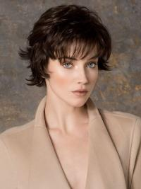 Great Monofilament Wavy Short Petite Wigs