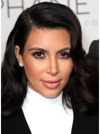 Tempting Black Wavy Long Kim Kardashian Wigs
