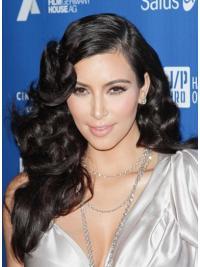 Easy Black Curly Long Kim Kardashian Wigs