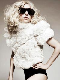 Popular Curly Long Lady Gaga Wigs