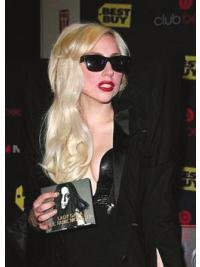Modern Blonde Wavy Long Lady Gaga Wigs