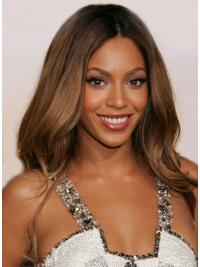 Sleek Auburn Wavy Long Beyonce Wigs