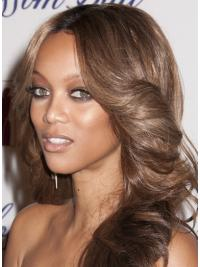 Modern Lace Front Wavy Long Tyra Banks Wigs