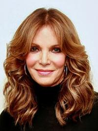 Jaclyn Smith Stunning and Polished Long Body-wave Style Layered Lace Front Human Hair Wig