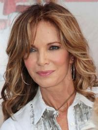 Jacklyn smith Typically common Long Layered Wavy Lace Human Hair Wig
