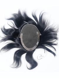 Mono Base With NPU Side Hair Toupee For Men