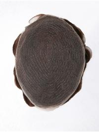 Indian Human Hair French Lace Base Man Toupees