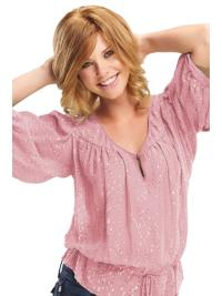 Easeful Blonde Wavy Chin Length Petite Wigs