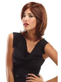 Monofilament Wavy Shoulder Length African American Wigs