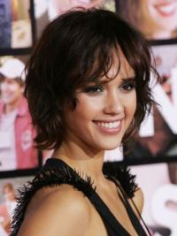Cheap Lace Front Wavy Short Jessica Alba Wigs