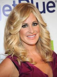 Great Blonde Wavy Long Kim Zolciak Wigs