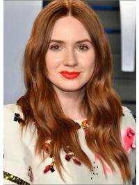 """17"""" Full Lace Layered Blonde New Karen Gillan Wigs"""