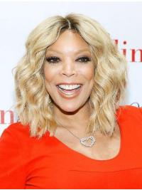 """12"""" Blonde Lace Front Wendy Williams Wigs"""