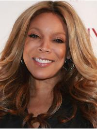 """Synthetic Blonde 16"""" Lace Front Wendy Williams Hair"""