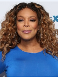"""Synthetic Ombre 14"""" Lace Front Wendy Williams Hair"""