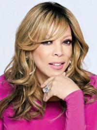 Blonde Long Wavy Wigs With Bangs Wendy Williams Wig