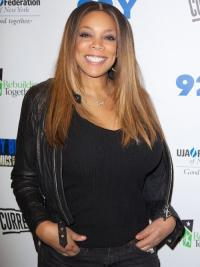 Straight Ombre Wigs Wendy Williams Lace Front Wig
