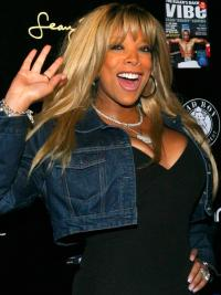 Straight Blonde Remy Hair Wendy Williams Wigs Long