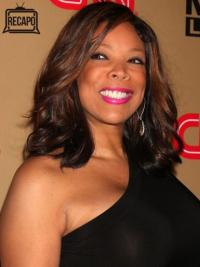 """Wendy Williams 14"""" Wavy Shoulder Length Remy Human Hair"""