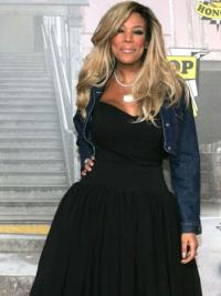 "Layered Wendy Williams 18"" Wavy Long Synthetic"