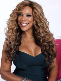 Wendy Williams Long Curly Lace Front Synthetic Wigs 22 Inches