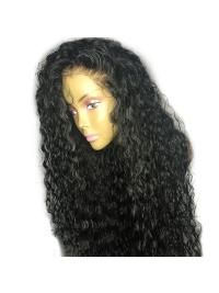 Curly Lace Front Human Hair Wigs With Baby Hair Pre Plucked Brazilian Remy Hair Lace Front Wigs
