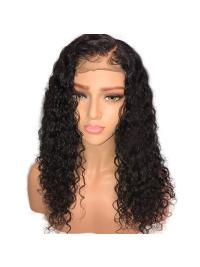 Curly Full Lace Human Hair Wigs Pre Plucked Hairline Brazilian Remy Hair Full Lace Wigs