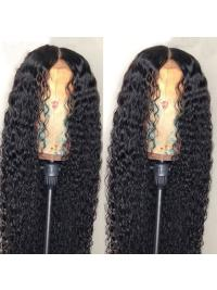 Lace Front Human Hair Wigs For Black Women Pre Plucked Curly Lace Wigs