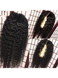 Full Lace Human Hair Wigs With Baby Hair Pre Plucked Natural Hairline Deep Wave Remy Hair Wigs