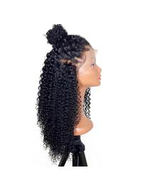 360 Lace Frontal Curly Wigs With Baby Hair Front Lace Wig For Women Brazilian Remy Hair