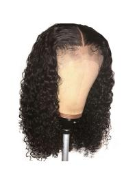 Curly Lace Front Human Hair Wigs Brazilian Lace Front Wig With Baby Hair