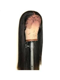 Pre Plucked Straight Remy Hair Wig Brazilian Lace Front Wig With Baby Hair