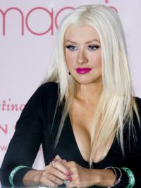 Young Fashion Long White Straight Lace Front Synthetic Wigs